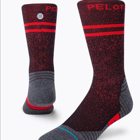 Peloton stance crew socks L